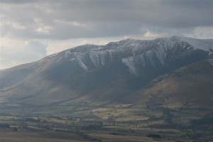 Blencathra From Great Mell Fell