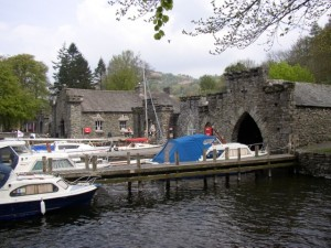 Boathouses Fell Foot Park staveley In Cartmel