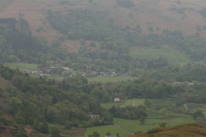 looking Down Upon Grasmere