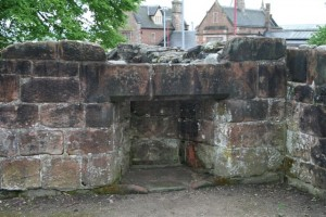 Old Fireplace at Penrith Castle