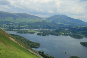 Derwent Water Viewed From My Cat Bells Walk