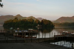Cat Bells Viewed From Derwent Water