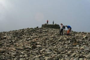 Scafell Pike Summit
