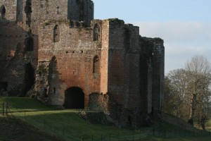 Brougham Castle near Penrith